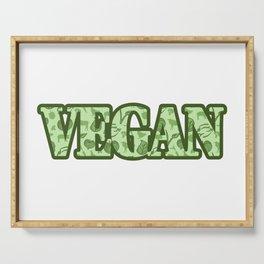 Vegan Serving Tray