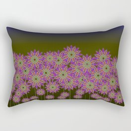 Violet Fields Rectangular Pillow