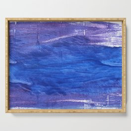 Cerulean blue Serving Tray