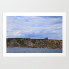 Block Island Lighthouse Art Print