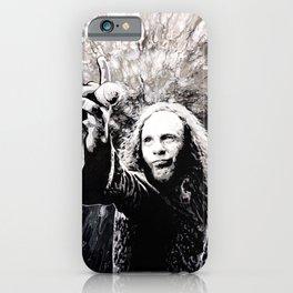 Ronnie James Dio Portrait Art iPhone Case