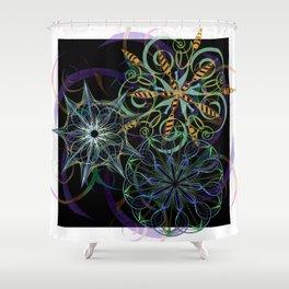 Pinwheels Shower Curtain