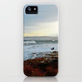 Sainte-Anne-Des-Monts and the Surf iPhone Case