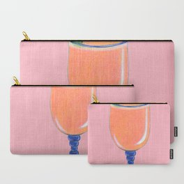 Tropical Bliss (Pink) Carry-All Pouch