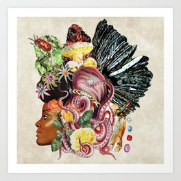 Black Beauty Art Print