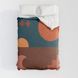 Abstraction_BOHEMIAN_SUN_VISUAL_ART_Minimalism_001S Comforters