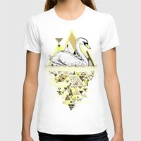 swan queen T-shirts featuring Swan by Wendy Ding