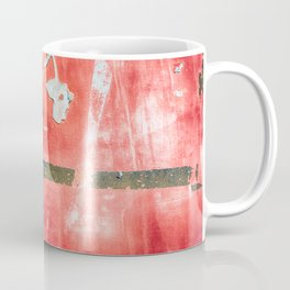 Etched Scratchings of a Mad Red Monk Coffee Mug