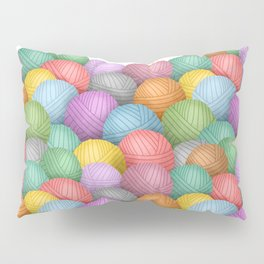 So Much Yarn Pillow Sham