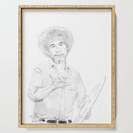 Bob Ross, Joy of Painting Serving Tray