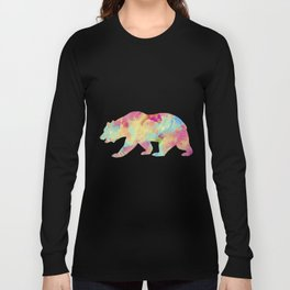 Abstract Bear Long Sleeve T-shirt