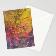 NEON MOUNTAINS / PATTERN SERIES 006 Stationery Cards