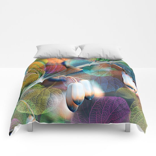 Floral abstract(48). Comforters