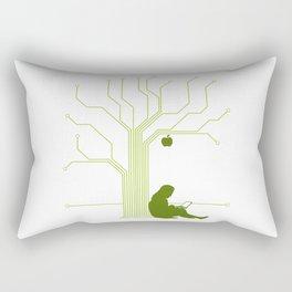 Apple CircuiTree Rectangular Pillow