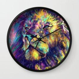 Primordial Gaze Wall Clock