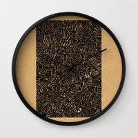 arya Wall Clocks featuring - 1986 - by Magdalla Del Fresto