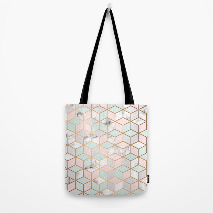 Marble & Geometry 051 Tote Bag