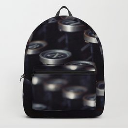 Letters typewriter Backpack