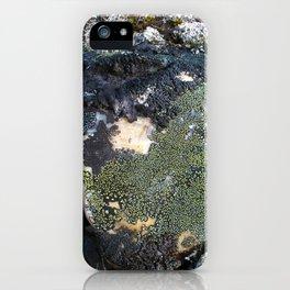 Darkened Rock iPhone Case