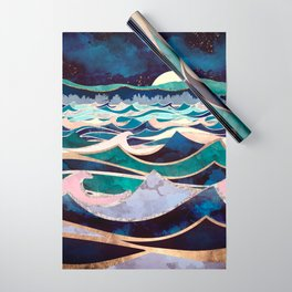 Moonlit Ocean Wrapping Paper