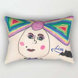 Lisa Love Marker Rectangular Pillow