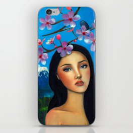 Spring Cherry iPhone Skin