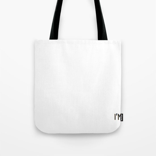 i'm awesome deal with it Tote Bag