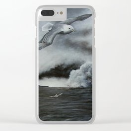 THE SINKING Clear iPhone Case