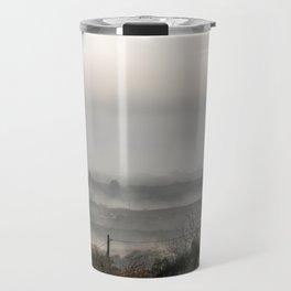 Foggy landscape Travel Mug