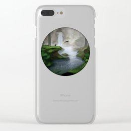 Masked creatures Clear iPhone Case