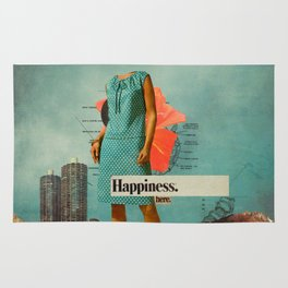 Happiness Here Rug