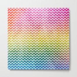 abstract lines vintage pattern Metal Print