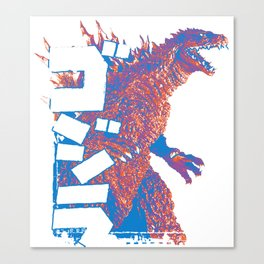 King Pop Canvas Print