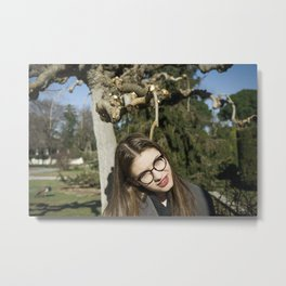 Don't go There, It's a Trap Metal Print