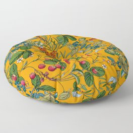 Vintage Garden VII Floor Pillow