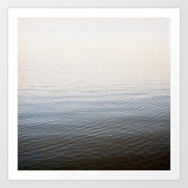 salton sea water Art Print