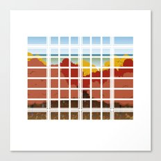 WINDOW 002: THE WOODS Canvas Print