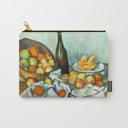 Basket of Apples Painting Paul Cezanne French Impressionism Still Life Painting Home Decor Kitchen Carry-All Pouch