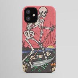 Death Tarot iPhone Case