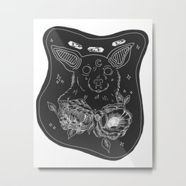 Cosmic Chihuahua Metal Print