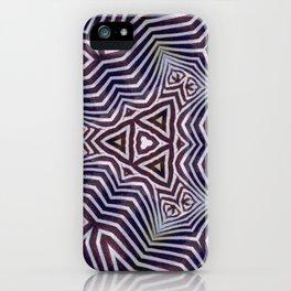 Abstract Zebra Design iPhone Case