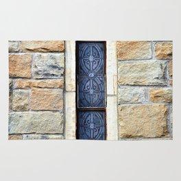 Church Window Rug