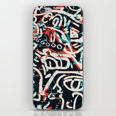 Street Art Pattern Graffiti Post iPhone Skin