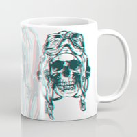 kindle Mugs featuring 200 by ALLSKULL.NET