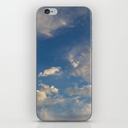 Something In The Clouds I iPhone Skin