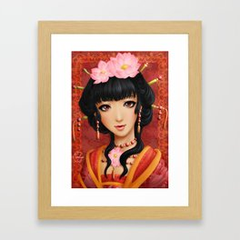 Chinese thought - Pensée chinoise Framed Art Print