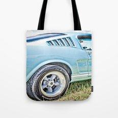 1966 Ford Mustang Fastback Car Tote Bag
