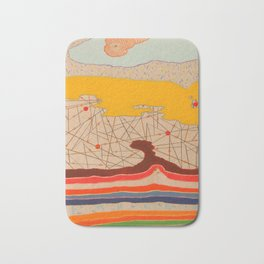 obstructions Bath Mat