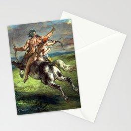 Eugène Delacroix The Education of Achilles Stationery Cards