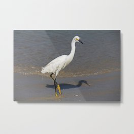 Ballet on the Beach Metal Print
